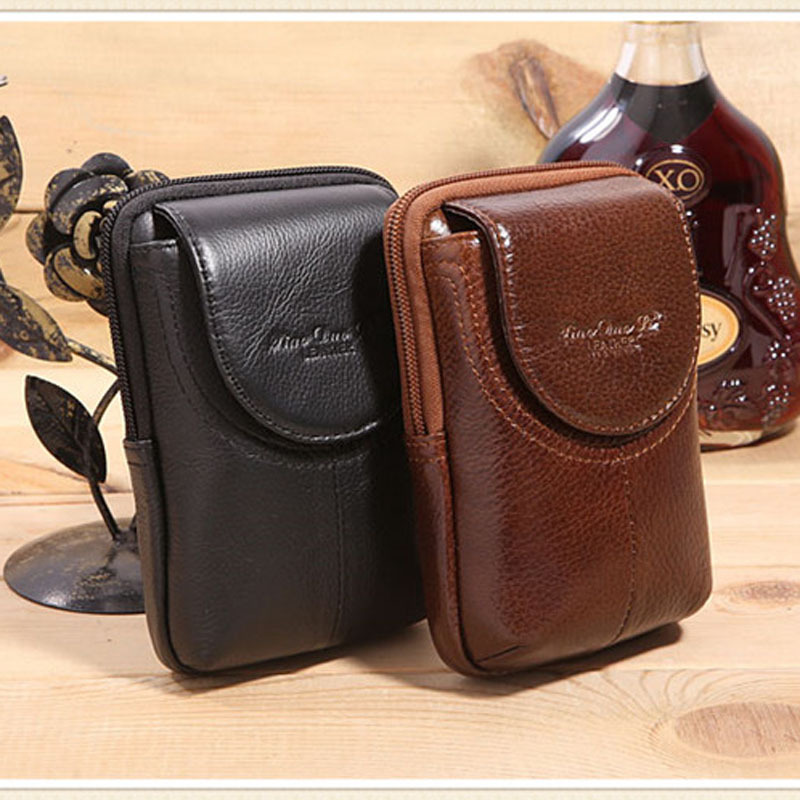 Leather Vintage Cell/Mobile Phone Cover Case skin Hip Belt Bum Purse ...