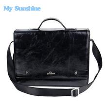 kostenloser versand hochwertiger Business herren aktentasche aus leder designer handtaschen reisetaschen zj9389q(China (Mainland))