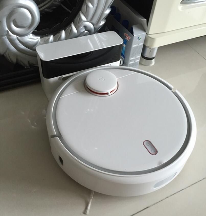 Original Xiaomi Mi Robotic Vacuum Cleaner Room for home Mini Robot 5200mAh NIDEC Motor household vacuum cleaning machine(China (Mainland))