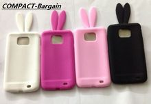 Cute Cartoon 3D Bunny Rabbit soft Silicone Case Huawei Ascend P8 lite Lovely Coque Cover P9 - COMPACT-Bargains Accessories' Store store