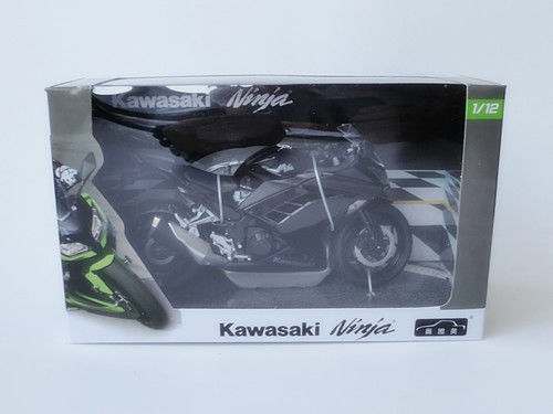 1:12 Kawasaki Ninja Black Motorcycle Model New in Box(China (Mainland))