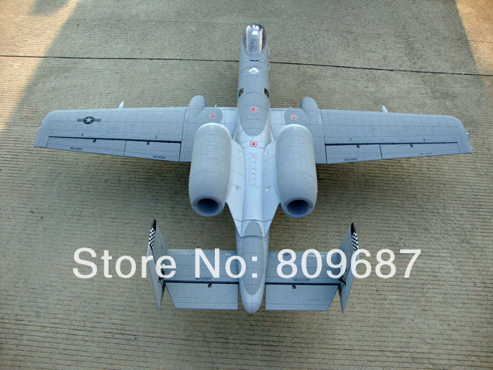 A10 US air force toy RC aircraft model 3D fly Kit type for RC airplane hobby(China (Mainland))