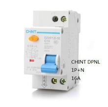 Чинт DPNL 1 P + N 16A 230 В 50 Гц / 60 Гц узо с защитой от превышения тока авдт. Безопасность и защита