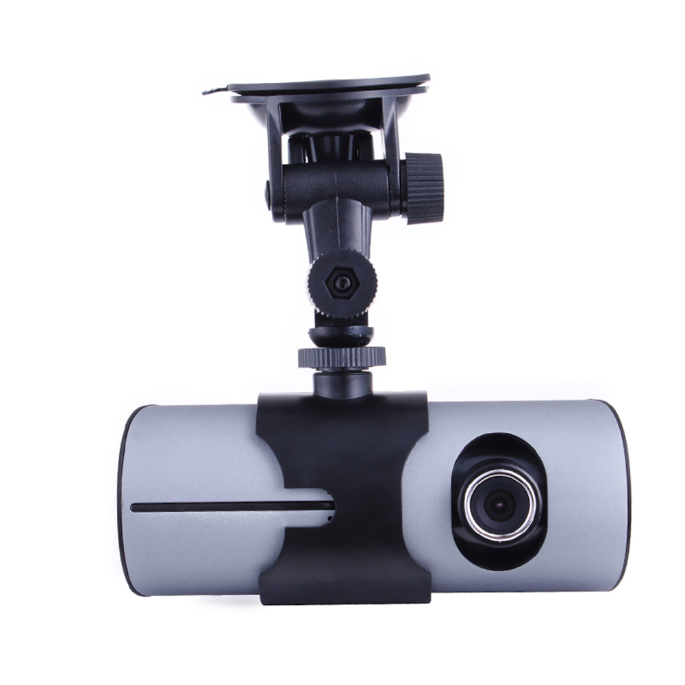 Original X3000/R300 Car DVR Full hd with GPS logger G-Sensor Dual lens 2.7 inch LCD Camera Video recorder(China (Mainland))