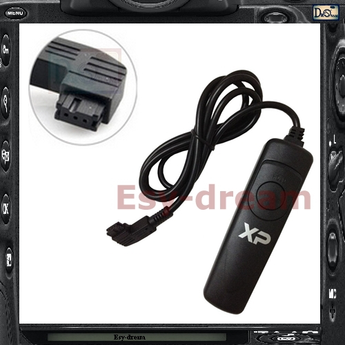 New Remote Control Shutter Release Cable As RM-S1AM RC-1000 For Sony A900 A700 A350 A300 A200 A550 A560 A580 A65 A37 A33 A55(China (Mainland))