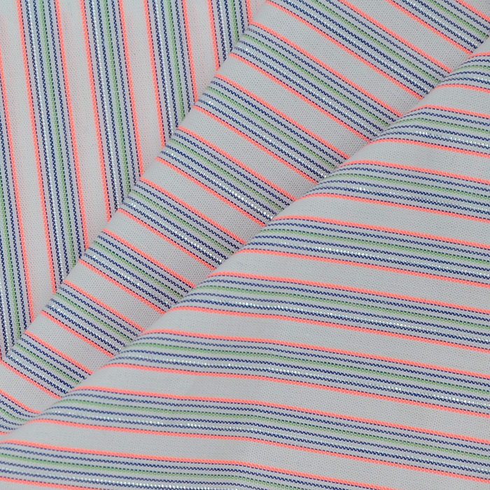 Free Shipping Poly/Cotton Striped Fabric for Sewing 3 yards/lot, High Quality Low PriceTextile for Clothing,New Arrival Y2318(China (Mainland))