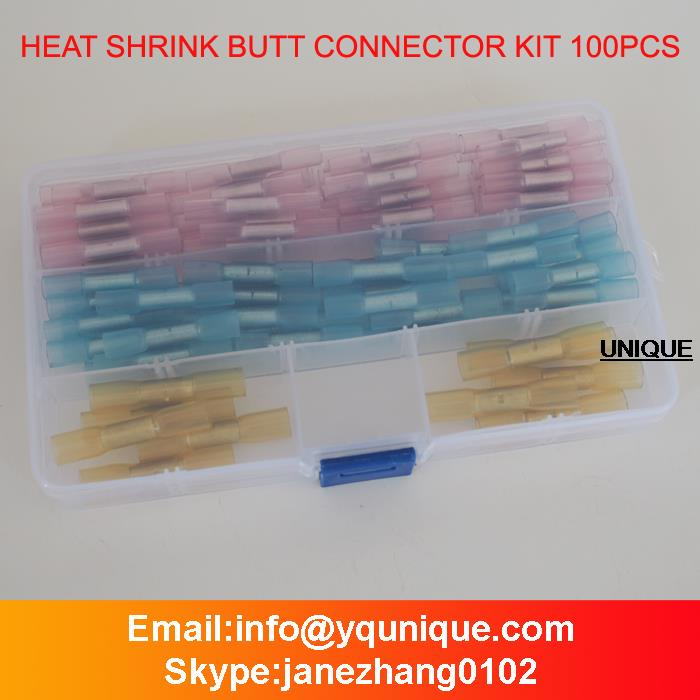 3M Heat Shrink Butt Connector Kit 100 Piece(China (Mainland))