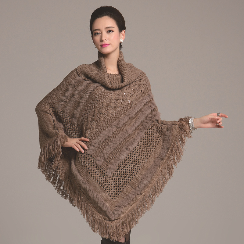 tricoter une cape femme. Black Bedroom Furniture Sets. Home Design Ideas