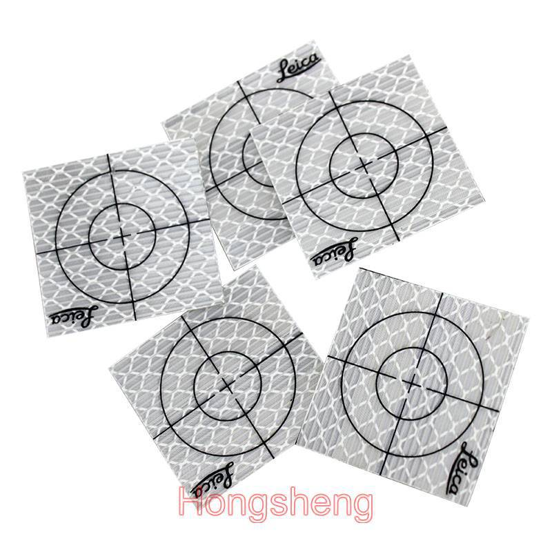 Фотография 150pcs Reflector Sheet 50 x 50 mm Reflective Tape Target for Total Station