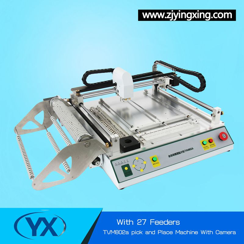 Used SMT MachineTVM802A Pick and Place Machine Soldering Machine WIth The Best Price Solar System Machine(China (Mainland))