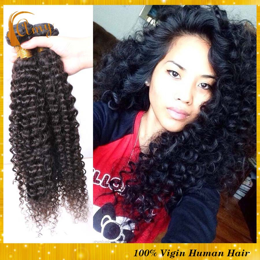 Peruvian afro kinky curly virgin human hair queen products peruvian remy curly hair extentions 3pcs hair bundles(China (Mainland))