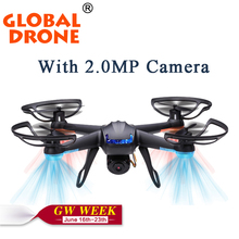 Global Drone GW007 4Channels Radio Remote Control RC drones 3D rc dron professional drones with camera quadcopter