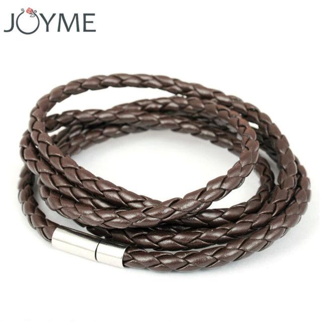 Горячая распродажа мужской украшения кожаный браслет для мужчин самая низкая цена ...