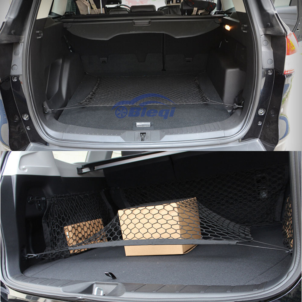 universal car cargo rear net storage bag hammock luggage organizer 70 70cm in mounts holder. Black Bedroom Furniture Sets. Home Design Ideas