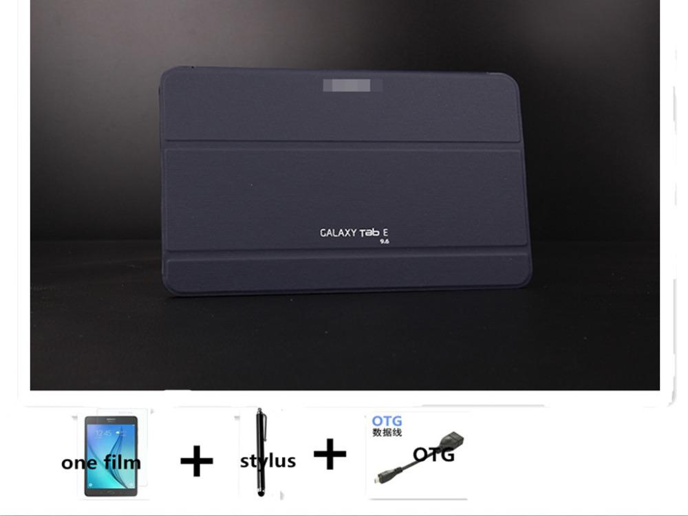 Чехол Для Samsung Tab 9.6 T560 SM-T560 чехол funda бесплатная доставка + пленка экрана + стилус планшеты samsung tab