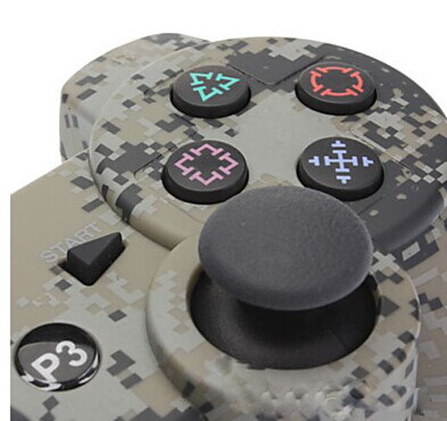 2015 Matte Unique Camouflage Dual Vibration Shock 6 Axis Bluetooth Wireless Controller(China (Mainland))