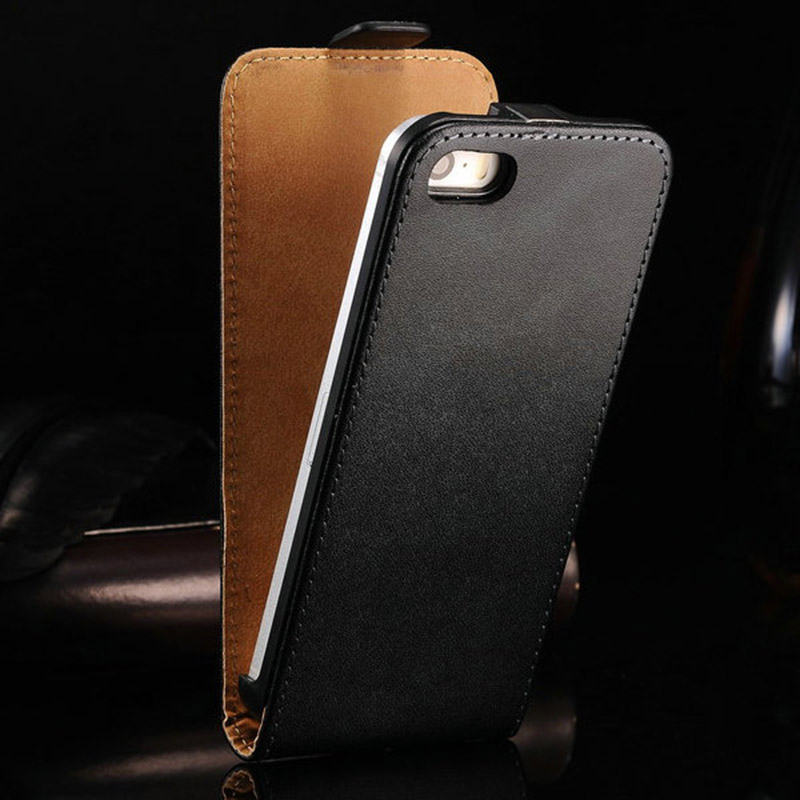 Гаджет   4s Flip Genuine Leather Case For iPhone 4 4S Business Style Phone Back Cover Luxury Protective Shell For IPHONE4 None Телефоны и Телекоммуникации