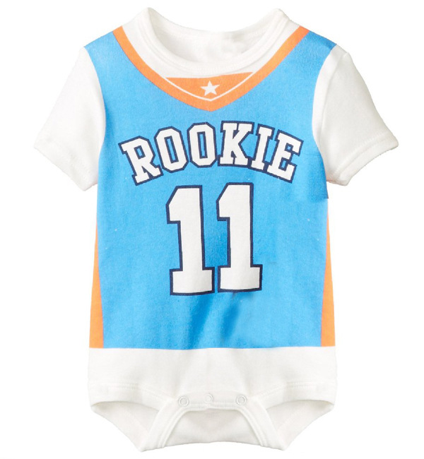 Baby Boy Sport Bodysuit Summer Short Sleeve Baby Football Softball Rugby Pattern Newborns Baby Infant Toddlers Clothes(China (Mainland))