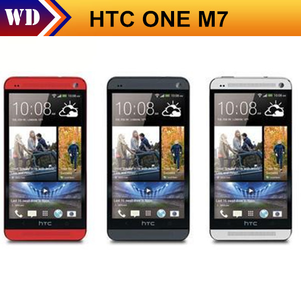 Hot Sale Unlocked Original HTC ONE M7 Cell Phone Android GPS WIFI 4.7''TouchScreen 32GB Internal EMS(China (Mainland))