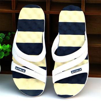 Summer Sandals Beach Slippers For Men Home Sandals Shoe Slip-resistant Slipper Flip Flops Bath/Massage slippers