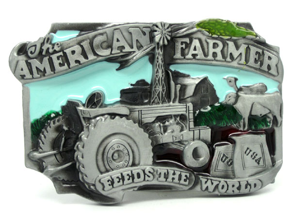 The American Farmer Belt Buckle(China (Mainland))