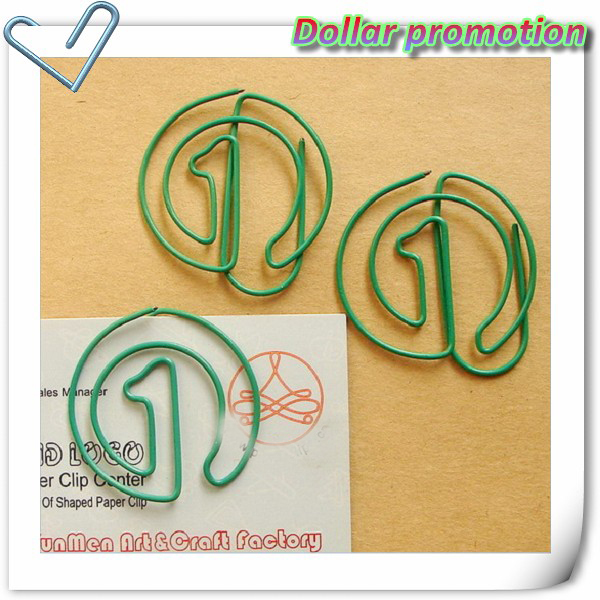 Free shipping !200pcs/lot 2015 Top selling high quality Digital circle 1 paper clip, mixed batch student stationery wholesale<br><br>Aliexpress