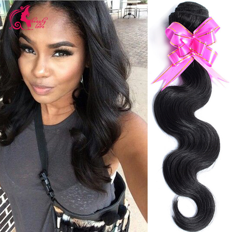 Grace Hair Company 7A Brazilian Virgin Hair Body Wave 4 Bundles wet and wavy brazilian body wave sofe brazilian virgin hair weft