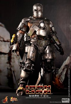 Free shipping new Hot Toys  Iron Man 1/6th scale Mark I (2.0) Limited Edition Collectible Figurine Specification/toys/movie doll