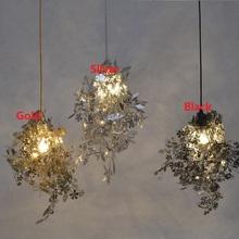 DIY Artecnica Garland Tangle Pendant Lamp Tord Boontje Design Lampen Gold Abajur Light Fixtures Hanglamp E27 Bedroom 110V 220V