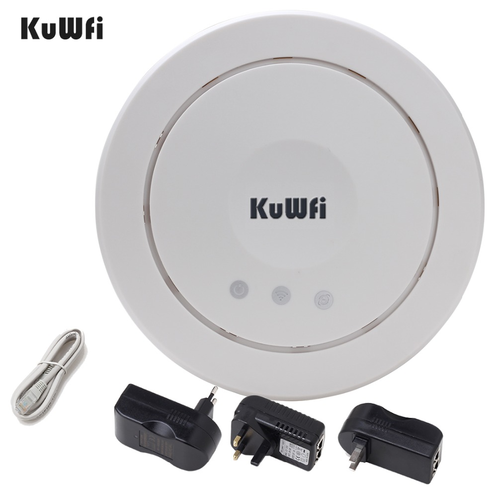 300Mbps Wireless Ceiling AP WIFI Router Indoor WIFI Repeater Wifi Extender Access Point 5dBi antenna Support VLAN With PoE(China (Mainland))