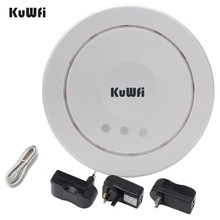 Buy 300Mbps Wireless Ceiling AP WIFI Router Indoor WIFI Repeater Wifi Extender Access Point 5dBi antenna Support VLAN PoE for $46.91 in AliExpress store