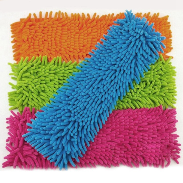 Promotion Sale 1 Piece Mops Head Floor Cleaning Chenille Mop Head Home Dust Refill Microfiber Top Household Replacement(China (Mainland))