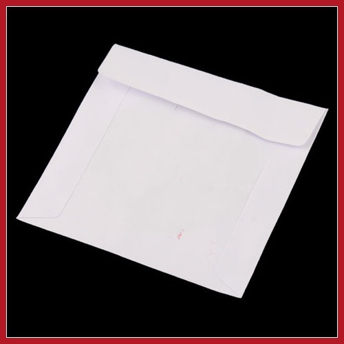 cleverdeal Mini 100 PCS Protective White Paper CD DVD Disc Storage Bag Case Envelopes Flap Worldwide free shipping(China (Mainland))