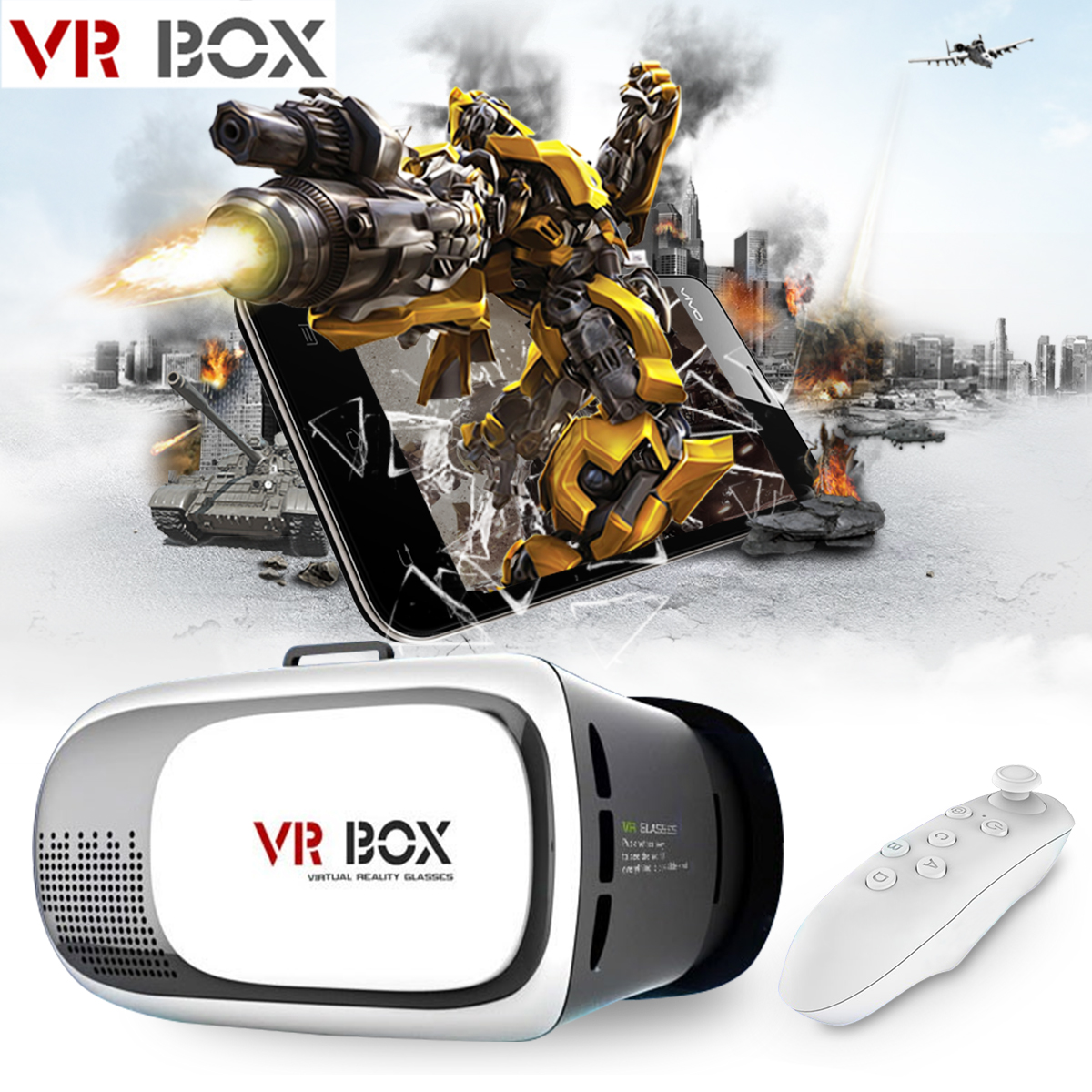 Google CardBoard VR Box Virtual Reality 3D Glasses For iPhone 5S 6 6S Plus TH192<br><br>Aliexpress