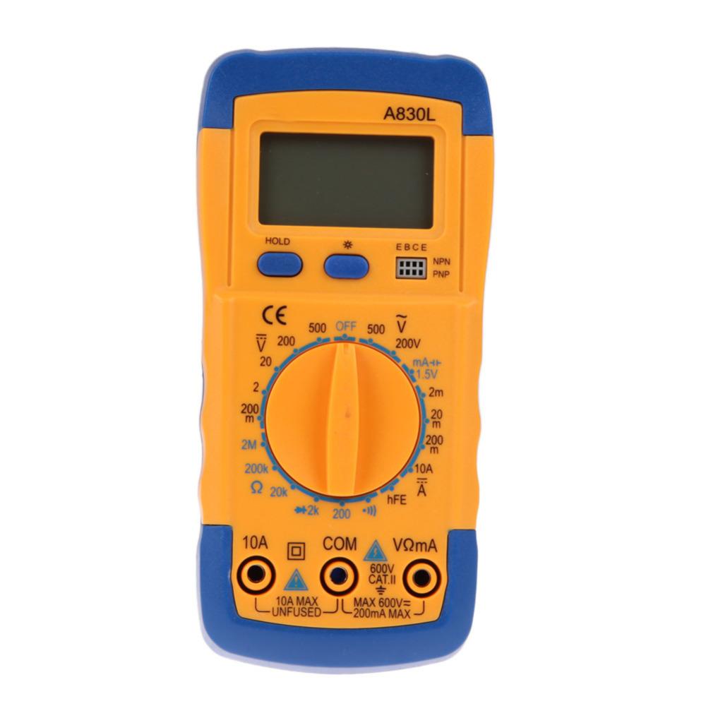 Гаджет  ONLY New Electrical LCD Digital Display Multimeter AC DC Voltmeter Ohmmeter Multitester Free Shipping None Инструменты