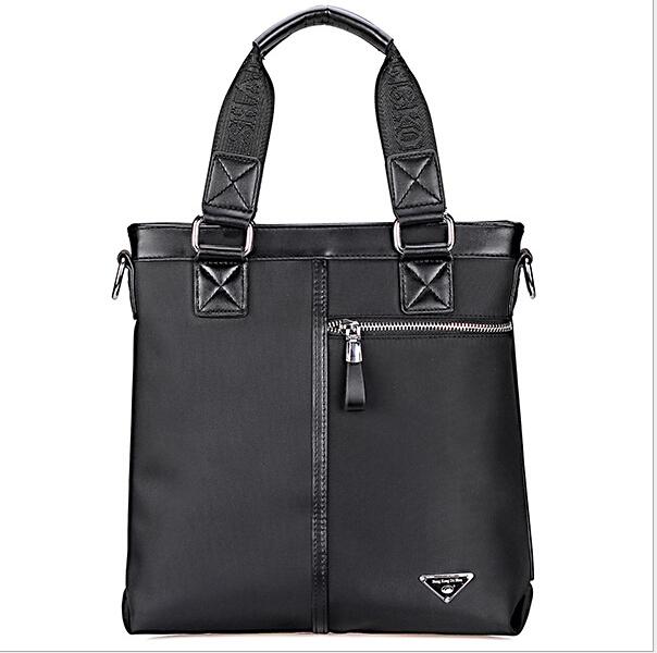 mens briefcase 2016 black oxford patchwork fashion causal men handbags business dress designer brand men laptop bags briefcases <br><br>Aliexpress