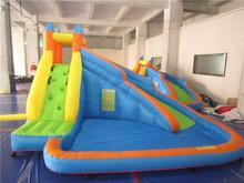 Children's inflatable bouncer slide/indoor inflatable water slide bouncer(China (Mainland))
