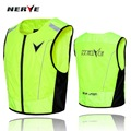 2016 Germany NERVE motorcycle reflective vest cycling jacket Paladins traffic safety waistcoat work vests polyester 600D