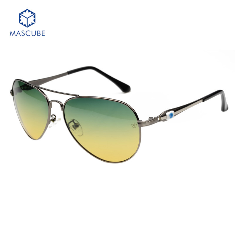 Men Outdoor Eyewear Polarized Aluminum Alloy Frame Sunglasses Fashion Men's Driving Mirror Occhiali Da Sole Googles Fishing(China (Mainland))