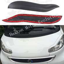 Buy Car Styling Mercedes Benz Smart Fortwo W451 Eyebrows Eyelids 2009-2014 Unpainted Fiberglass Material for $26.00 in AliExpress store