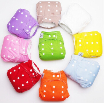 1pcs Baby Reusable Adjustable Diapers Infant Cloth Diaper Washable Diapers Reusable Nappies Winter Summer Version Baby Care