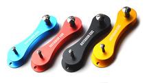 Hot keysmart key smart holder organizer keychain portable Clip Organize folder hard Oxide Aluminum Pocket Tool