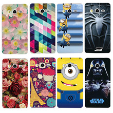 Case For Samsung Galaxy Express 2 G3815 Win Pro G3812 G3818 Colorful Printing Plastic Hard Phone