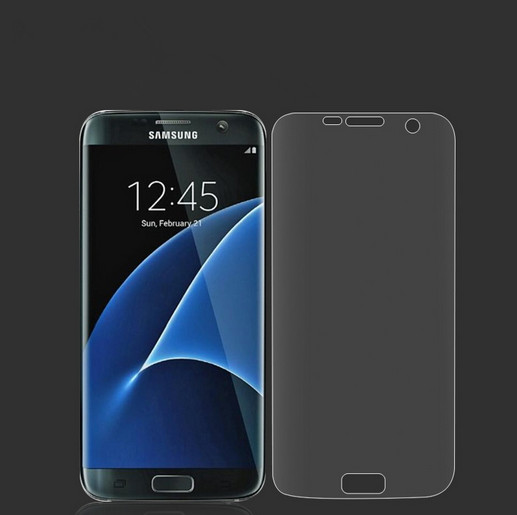 TPU Full Cover clear Front Protective Film Protection For Samsung Galaxy S7 G9300 Screen Protector(China (Mainland))
