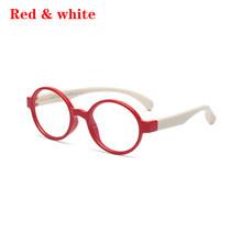 4 вида стилей очки для мальчиков и девочек, Мягкая силиконовая оправа, анти-синий луч, защита для глаз, детская стеклянная оправа, очки, прозр...(Китай)