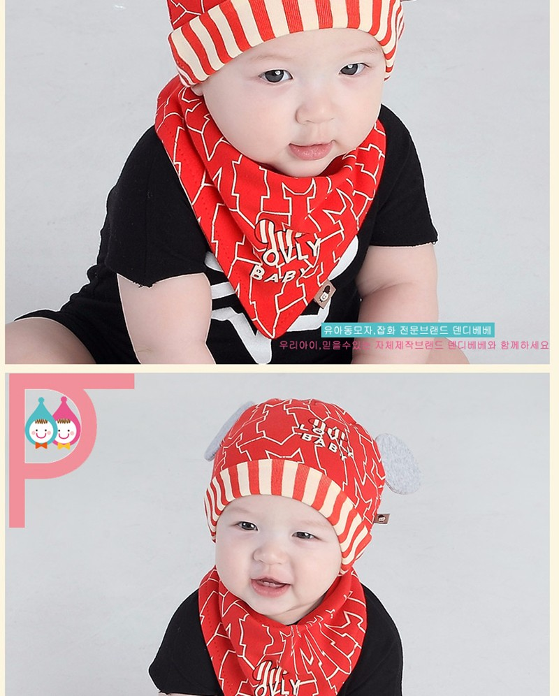 Winter Baby Hat And Scarf For Boys Girls Newborns Sapka 0-3 Months Cute Cartoon Hats With Pompom Fashionable For Kids 70D0579