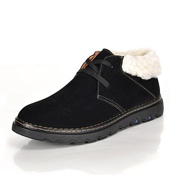 2015 новое поступление мужской вельвет теплого хлопка сапоги, Удобные зимние непромокаемые сапоги, Мужская высокое качество снегоступы обувь