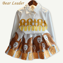 Buy Bear Leader Girls Clothing Sets 2016Fashion Autumn Kids Clothing Sets Long-sleeve Printing Shirt+Pattern Dress 2pcs Children Set for $8.99 in AliExpress store