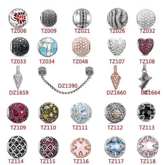 Wholesale Top Quality silver crystal beads TS silver beads fashion charms fit for necklaces&bracelets DIY Style bead(China (Mainland))