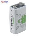 9V Battery for Outdoor Receiver with Kaitian 532nm Cross Line Laser Levels KTM556